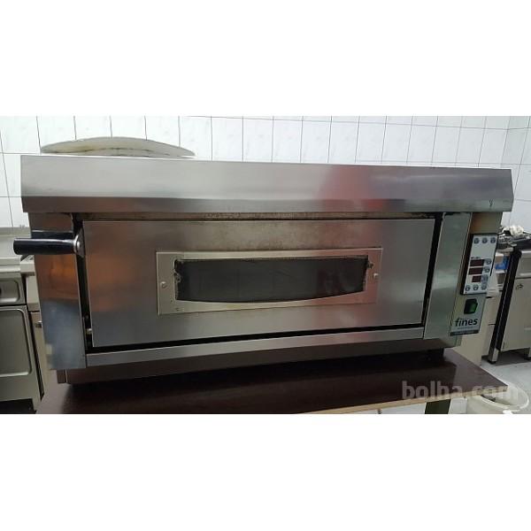 Rabljena pizza peč fines ES 66o digital